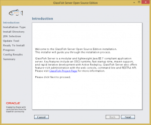 GlassFish Install 1 - Introduction