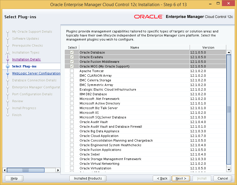 Install Oracle Enterprise Manager Cloud Control 12c Release